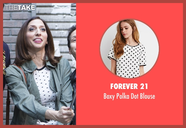 Forever 21 blouse from Brooklyn Nine-Nine seen with Gina Linetti (Chelsea Peretti)