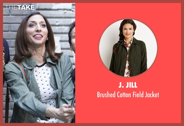J. Jill jacket from Brooklyn Nine-Nine seen with Gina Linetti (Chelsea Peretti)