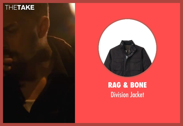 Rag & Bone black jacket from Contraband seen with Giovanni Ribisi (Tim Briggs)