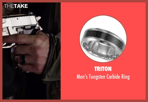 Triton ring from Ride Along 2 seen with Glen Powell (Troy Bolton)