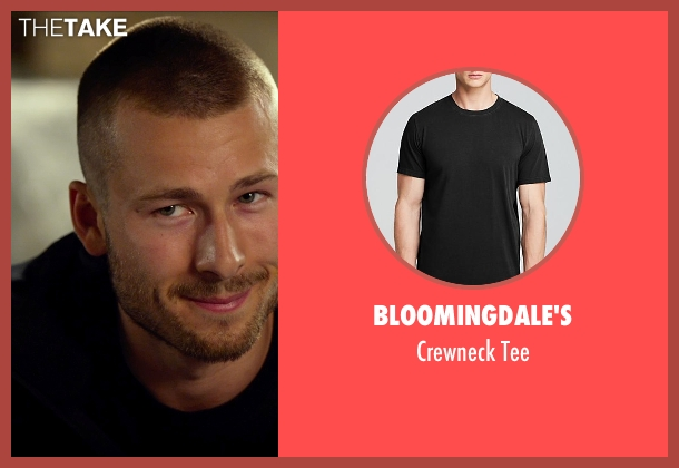 Bloomingdale's black tee from The Expendables 3 seen with Glen Powell (Thorn)