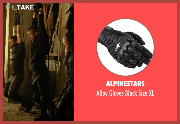 Alpinestars xl from The Expendables 3 seen with Glen Powell (Thorn)