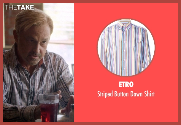 Etro white shirt from Nashville seen with Glenn Goodman (Ed Amatrudo)