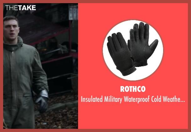 Rothco black gloves from Godzilla