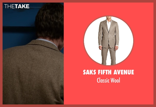 Saks Fifth Avenue brown wool from Godzilla