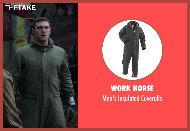 WORK HORSE gray coveralls from Godzilla