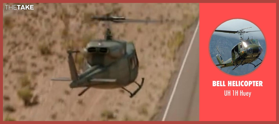 Bell Helicopter huey from Godzilla
