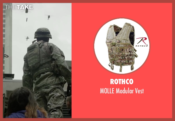 Rothco vest from Godzilla