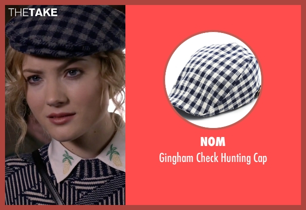 NOM blue cap from Scream Queens seen with Grace Gardner (Skyler Samuels)