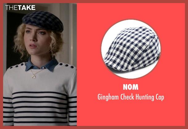 NOM blue cap from Scream Queens seen with Grace Gardner (Skyler Samuels)