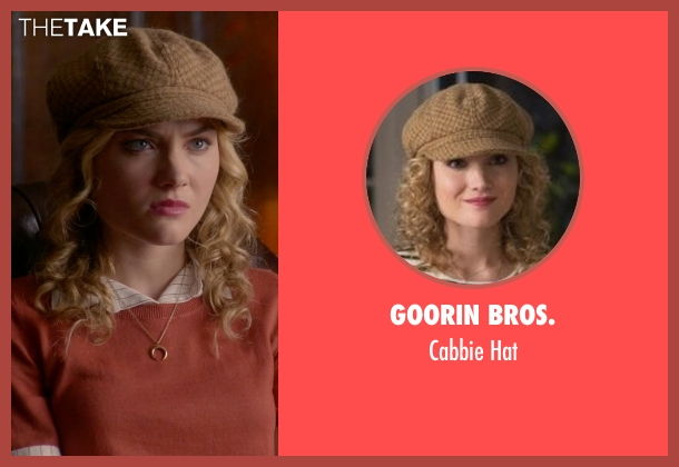 Goorin Bros. brown hat from Scream Queens seen with Grace Gardner (Skyler Samuels)
