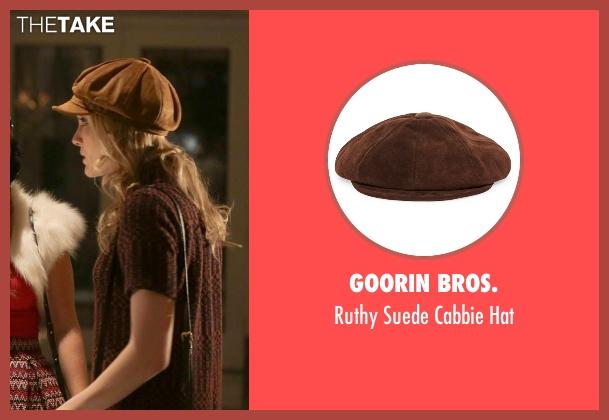 Goorin Bros. brown hat from Scream Queens seen with Grace Gardner (Skyler Samuels)