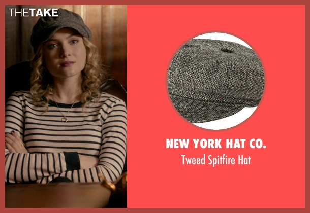 New York Hat Co. gray hat from Scream Queens seen with Grace Gardner (Skyler Samuels)