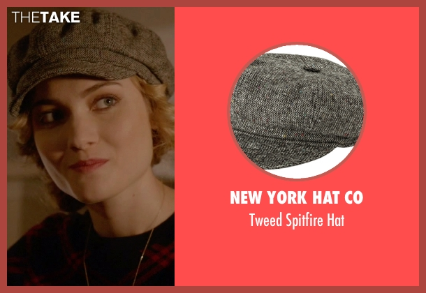 New York Hat Co gray hat from Scream Queens seen with Grace Gardner (Skyler Samuels)