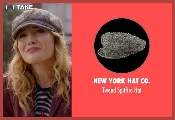 New York Hat Co. gray hat from Scream Queens seen with Grace Gardner (Skyler Samuels)