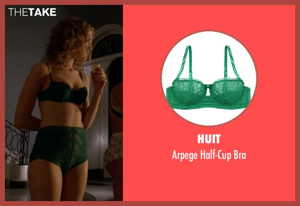 Huit green bra from Scream Queens seen with Grace Gardner (Skyler Samuels)