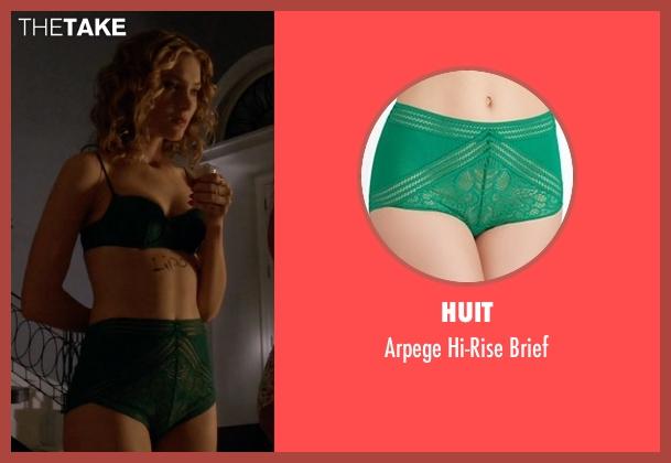 Huit green brief from Scream Queens seen with Grace Gardner (Skyler Samuels)