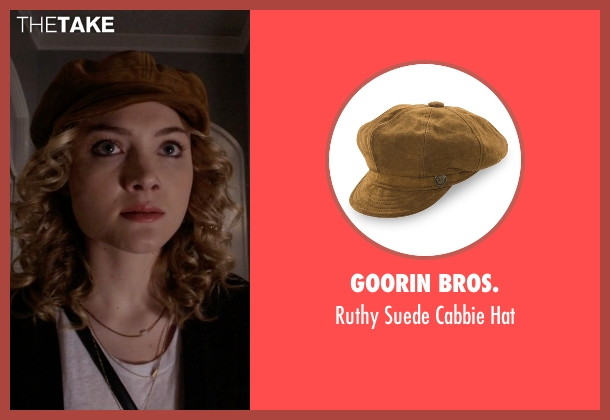 Goorin Bros. hat from Scream Queens seen with Grace Gardner (Skyler Samuels)