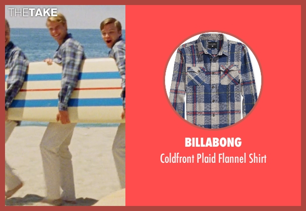 Billabong blue shirt from Love & Mercy seen with Graham Rogers (Al Jardine)