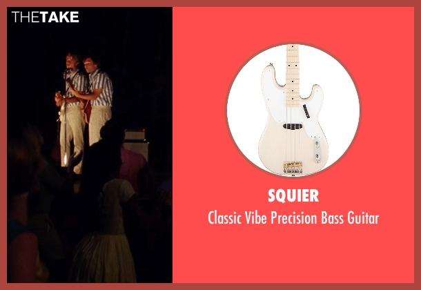 Squier guitar from Love & Mercy seen with Graham Rogers (Al Jardine)