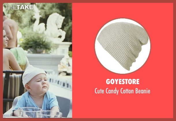 Goyestore beige beanie from The Hangover seen with Grant Holmquist (Tyler)