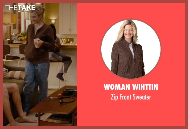Woman Wihttin sweater from No Strings Attached seen with Greta Gerwig (Patrice)