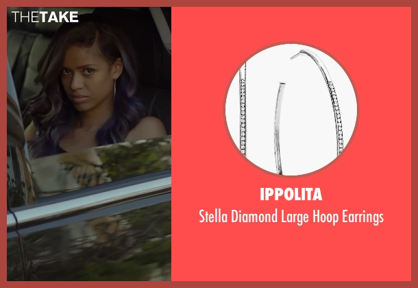 Ippolita silver earrings from Beyond the Lights seen with Gugu Mbatha-Raw (Noni Jean)