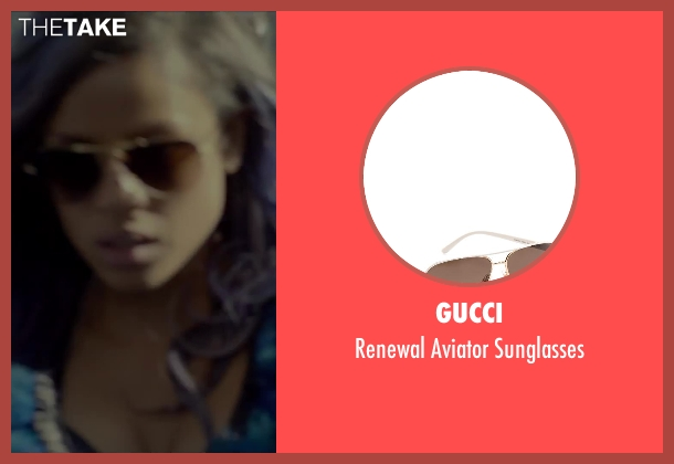 Gucci sunglasses from Beyond the Lights seen with Gugu Mbatha-Raw (Noni Jean)