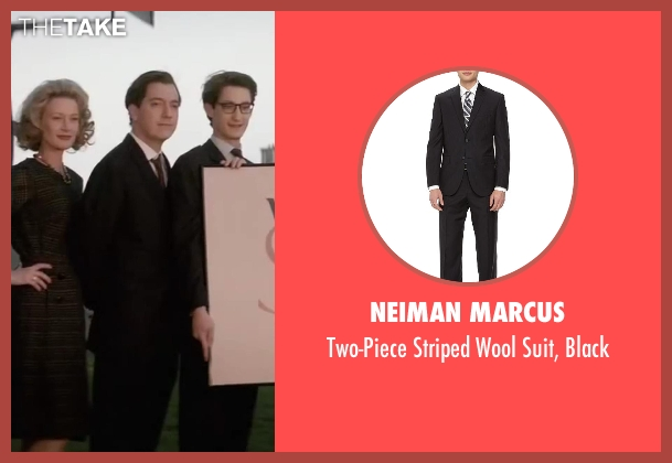 Neiman Marcus black black from Yves Saint Laurent seen with Guillaume Gallienne (Pierre Bergé)