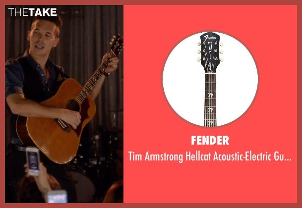 Fender guitar from Nashville seen with Gunnar Scott  (Sam Palladio)