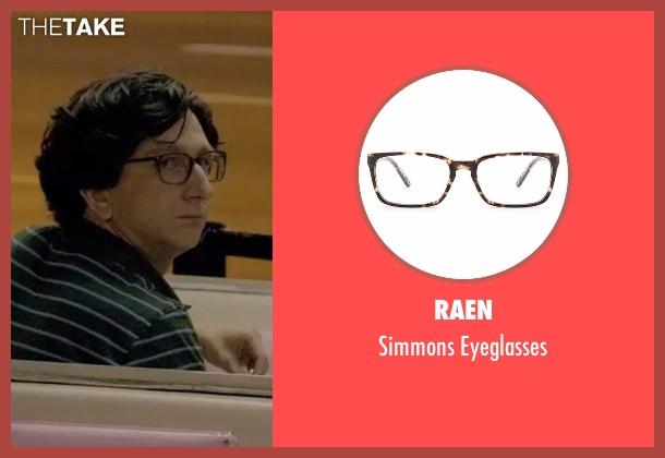 Raen brown eyeglasses from Love seen with Gus Cruikshank (Paul Rust)