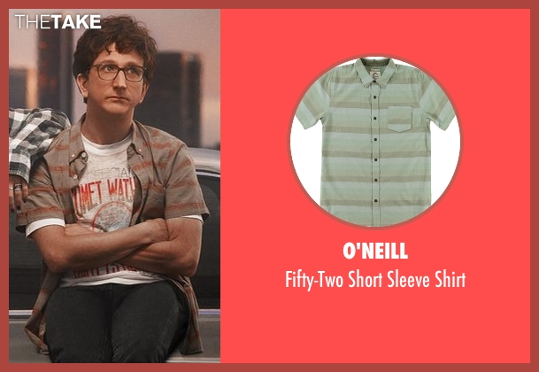 O'Neill green shirt from Love seen with Gus Cruikshank (Paul Rust)
