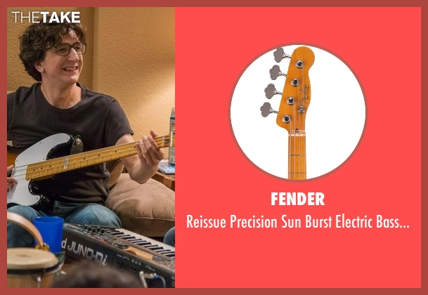 Fender guitar from Love seen with Gus Cruikshank (Paul Rust)