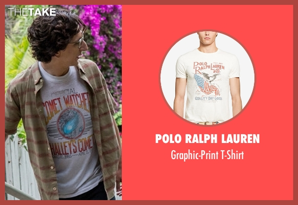 Polo Ralph Lauren white t-shirt from Love seen with Gus Cruikshank (Paul Rust)
