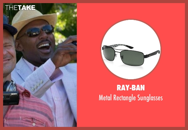 Ray-Ban black sunglasses from Mad Dogs seen with Gus (Romany Malco)