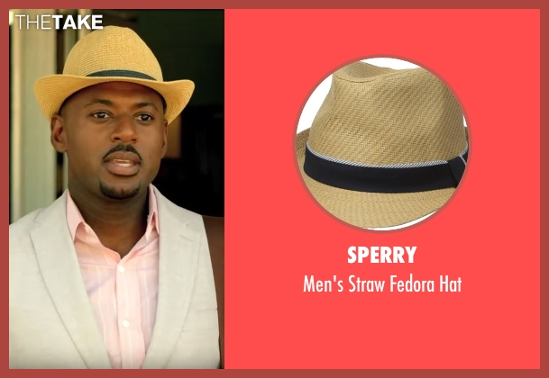 Sperry  brown hat from Mad Dogs seen with Gus (Romany Malco)