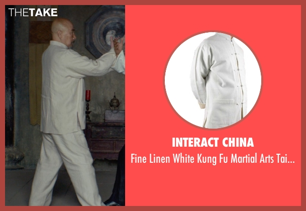 Interact China uniform from Man of Tai Chi seen with Hai Yu (Master Yang)