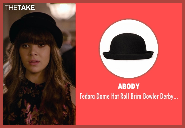 Abody black hat from Barely Lethal seen with Hailee Steinfeld (Megan Walsh)
