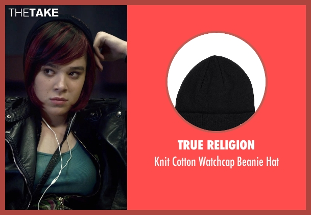 True Religion black hat from Barely Lethal seen with Hailee Steinfeld (Megan Walsh)