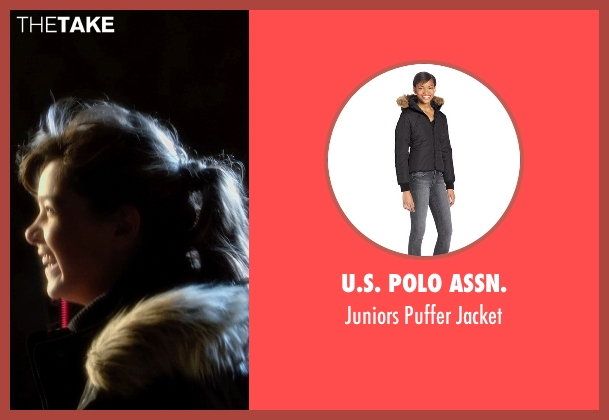U.S. Polo Assn. black jacket from Barely Lethal seen with Hailee Steinfeld (Megan Walsh)