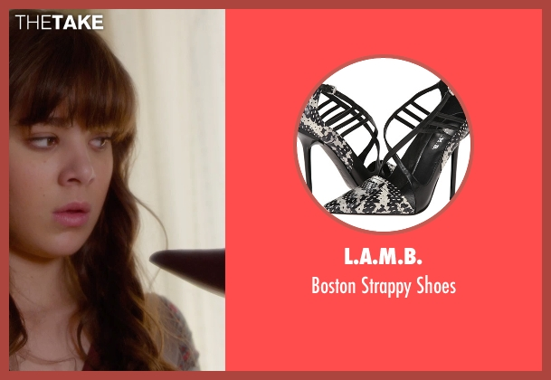 L.A.M.B. black shoes from Barely Lethal seen with Hailee Steinfeld (Megan Walsh)