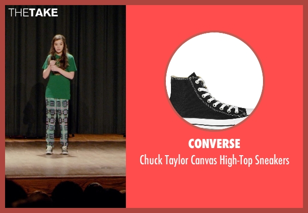 Converse black sneakers from Barely Lethal seen with Hailee Steinfeld (Megan Walsh)