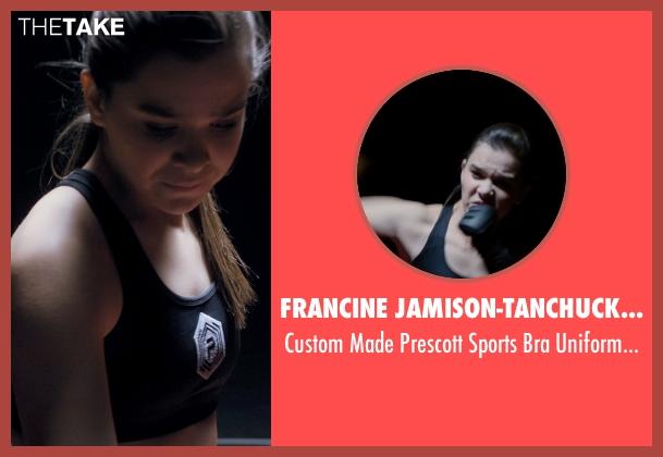 Francine Jamison-Tanchuck (Costume Designer) black uniform from Barely Lethal seen with Hailee Steinfeld (Megan Walsh)
