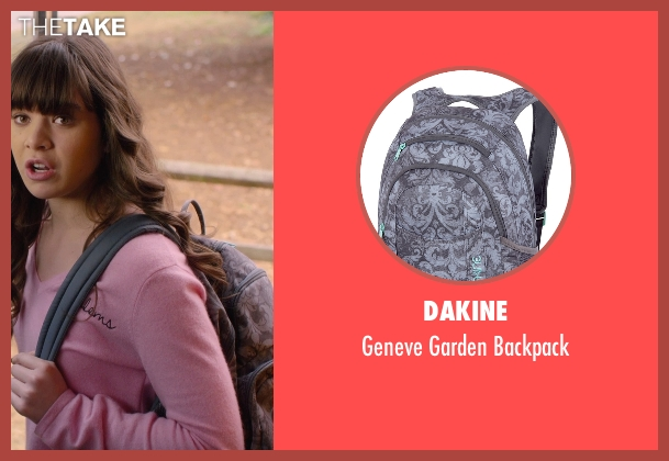 Dakine gray backpack from Barely Lethal seen with Hailee Steinfeld (Megan Walsh)