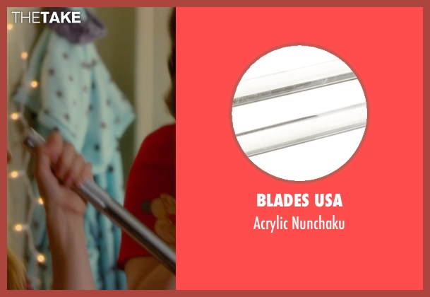 Blades USA nunchaku from Barely Lethal seen with Hailee Steinfeld (Megan Walsh)