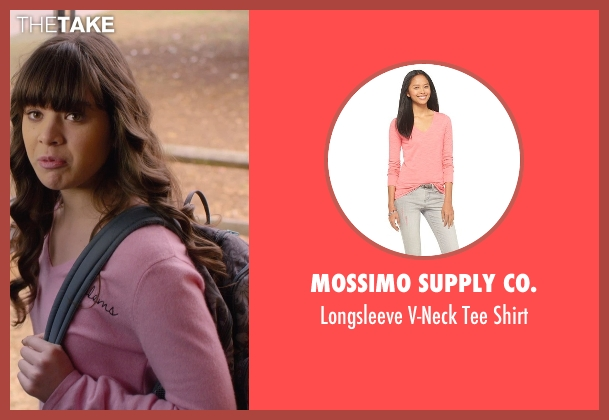 Mossimo Supply Co. pink shirt from Barely Lethal seen with Hailee Steinfeld (Megan Walsh)