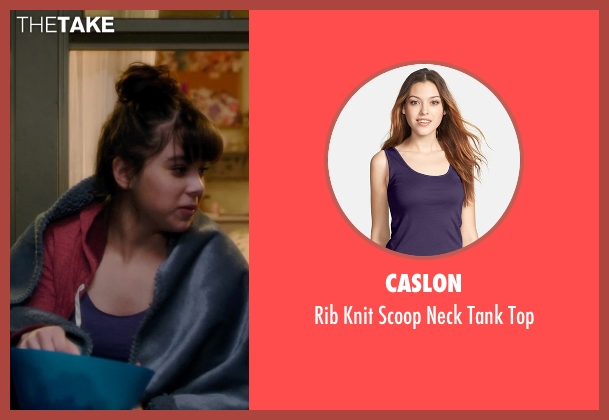 Caslon purple top from Barely Lethal seen with Hailee Steinfeld (Megan Walsh)