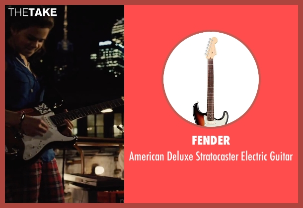 Fender guitar from Begin Again seen with Hailee Steinfeld (Violet)