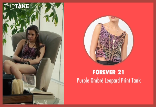 Forever 21 tank from Begin Again seen with Hailee Steinfeld (Violet)