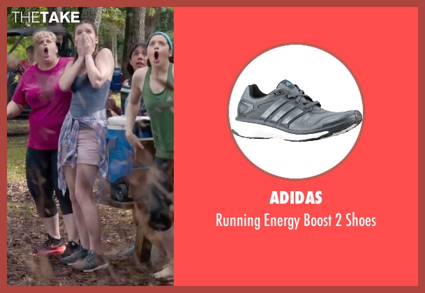 Adidas gray shoes from Pitch Perfect 2 seen with Hailee Steinfeld (Emily Hobbs)